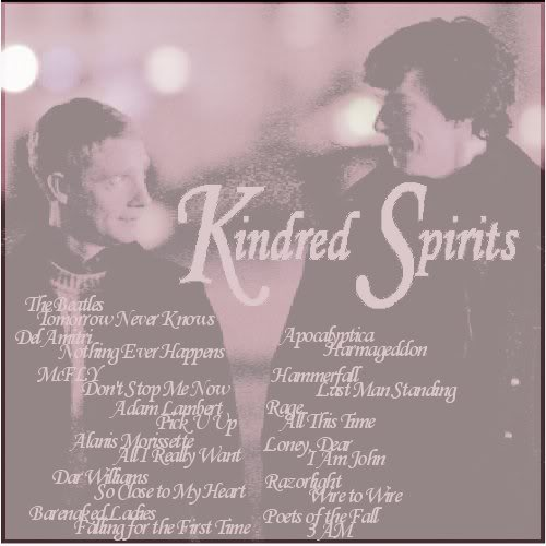 Kindred Spirits tracklist.
