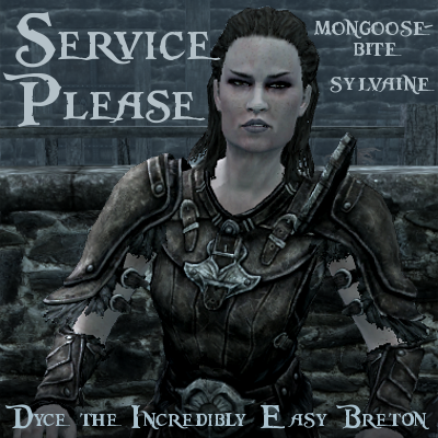 cover of service please, showing a screenshot of Grelka looking unimpressed.