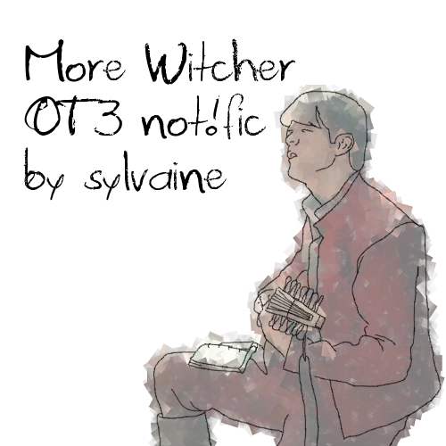 cover of more Witcher OT3 not!fic, showing a blurry Jaskier singing his heart out.