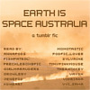 cover of earth is space australia